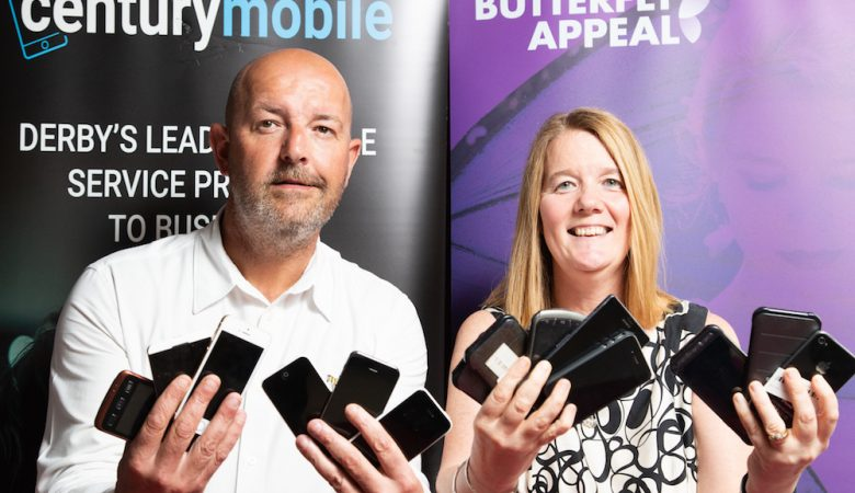 Recycling Programme Launched To Support Butterfly Appeal
