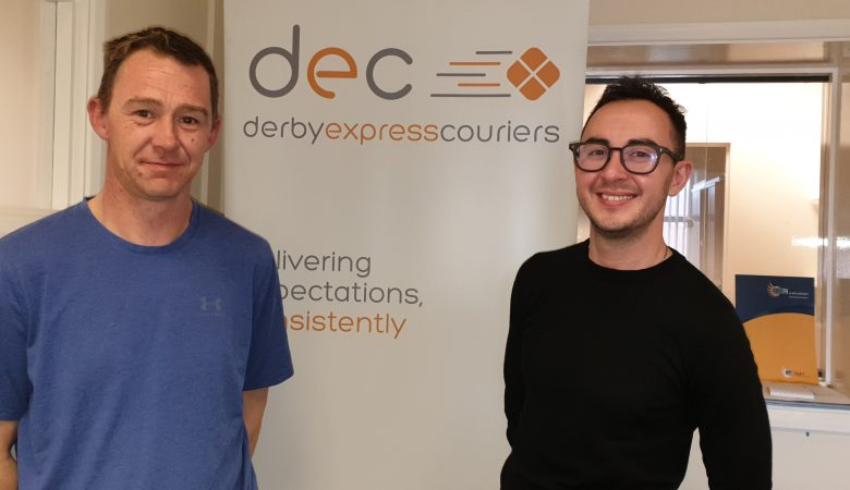 Derby Express Couriers in Derby Half Marathon