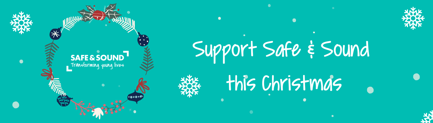 Support Safe & Sound this Chrismtas - Festive Support, local charity covering Derby, Derbyshire