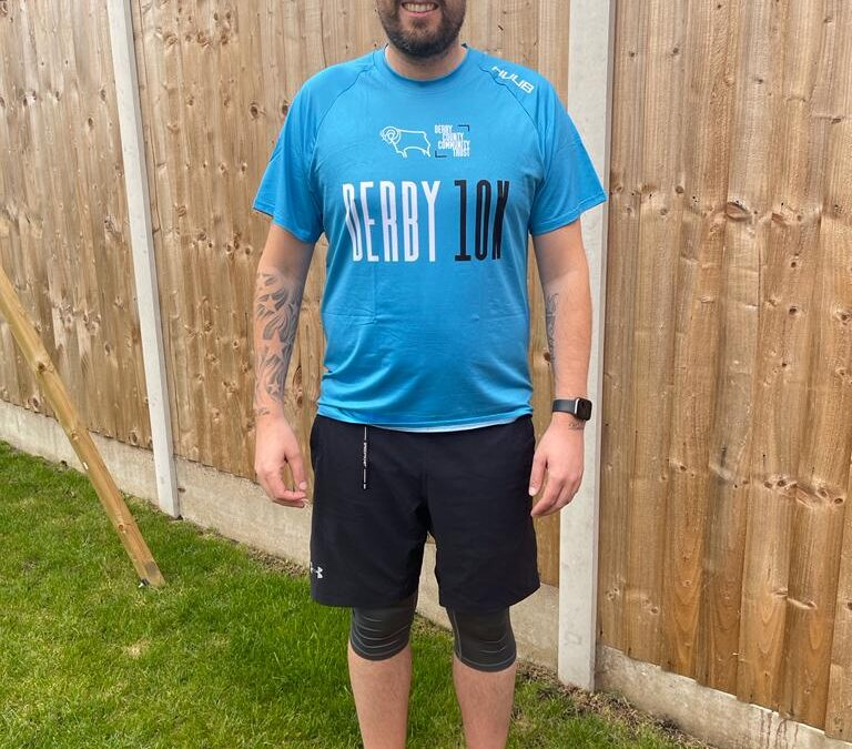 Burton Dad Tackles Derby 10k To Celebrate Weight Loss and Family Support